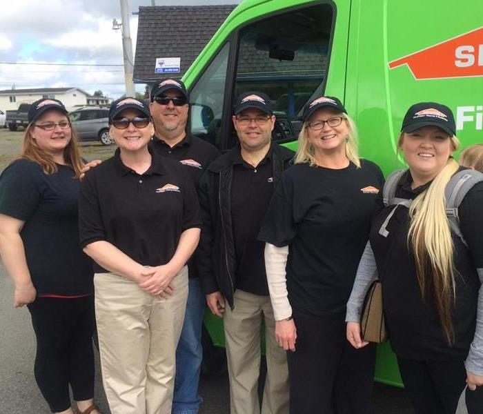 General For Immediate Service in Clallam and Jefferson Co. call SERVPRO